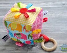 Image result for fabric cube activity block pattern