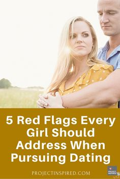 Red flags in early dating advice