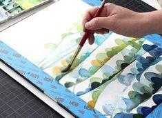 watercolor tutorial part 4 – layering