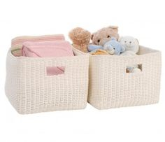 Ava Paper Rope Cubes Set 2