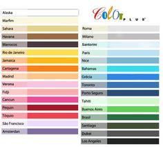Papel Color Plus 120g A4 50 folhas