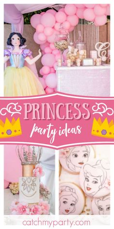 Princess Dream Big Girls Birthday Party Tableware Pack Kit For 16