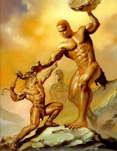 Les géants: Quand notre recherche a débuté sur ce paradigme, nous avions peu de connaissances sur l'ampleur des preuves de leur existence.