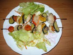 Zvířátkový den - kuřecí špíz se zeleninou