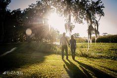 sunset engagement photos litchfield plantation