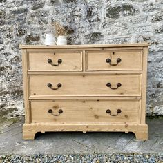 Small Welsh Pine Chest Of Drawers - Antiques Atlas Furniture, Drawers, Pine Furniture, Pine Chests, Pine, Chest, Country Furniture, Chest Of Drawers, Small