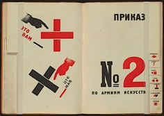 Vladimir Vladimirovich Mayakovsky and El Lissitzky publish For the Voice- book of poetry meant to ead out loud in groups
