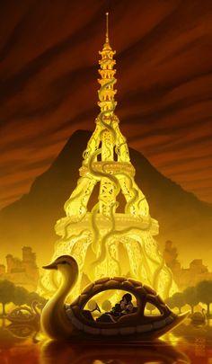"Bryan Konietzko Releases New ""The Legend of Korra"" Korrasami Goodness"