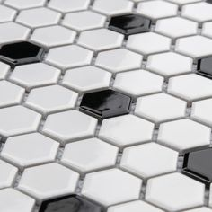 Us 17999 Nordic Modern Hexagon Glossy Black White Mixed Ceramic Mosaic Tile Kitchen Backsplash Bathroom Wall Floor Tile In Mosaic Making From White Bathroom Tiles, Master Bathroom, White Bathrooms, Shower Tiles, Brass Bathroom, Diy Shower, Downstairs Bathroom, Bathroom Art, Bathroom Flooring