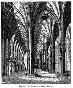 Fig. 68. St. Stephan in Wien, Inneres.