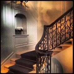 Fairytale entrance to Rossano Ferretti #luxury #hairsalon #hanoversquare #london #mayfair  www.5ivestarlondon.com London Instagram, Instagram Posts, Fairytale, Entrance, Spa, Stairs, Hair Beauty, Concept, Luxury