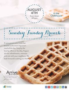 Arrive Fountain Hills is home to the best pet-friendly apartments in Fountain Hills,AZ. Saturday Brunch, Sunday Funday, Waffle Day, Pet Friendly Apartments, Looking Forward To Seeing You, Recipe Of The Day, Fresh Fruit, At Home Workouts, Waffles