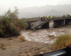 Interstate 10 Closed After Bridge Collapses in California