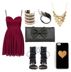 """""""A night out"""" by gwynstephen on Polyvore"""