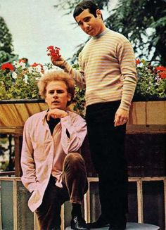 simon and garfunkel.ha. they're so.... interesting. ; ) we need to take a picture like this @Pee-Wee Carpenter