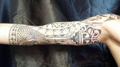Tattoo maori braccio