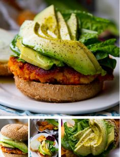 kblog.lunchboxbun... - Vegan Sweet Potato Burgers