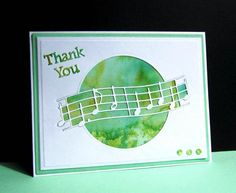 IC451 Watercolor Thank You by catluvr2 - Cards and Paper Crafts at Splitcoaststampers