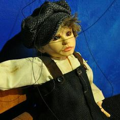 The Kid Czech Marionette Puppet by CzechMarionettes on Etsy