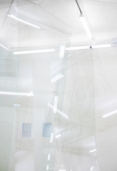 Gerhard Richter   -    Nat Urazmetova photography   -   http://www.someslashthings.com/online-magazine/2014/10/23/someart-gerhard-richter-at-marian-goodman-gallery-frieze-london