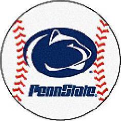 Fanmats Penn State Nittany Lions Baseball-Shaped Mat