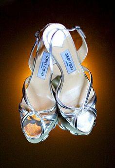 Silver Heels from @Jimmy Choo {Elizabeth Jayne   Photographer}