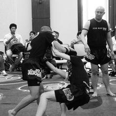 Takedown in Muay Thai -- #tagmuaythai #MMA #muaythai #thaiboxing #martialarts #bjj #DMV #boxing #kickboxing #DC #ufcgym #kick #ko #NoVA #VA #vsco #selfdefense #takedown