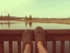 Put your feet up and enjoy the view in the Photo Of The Day! courtesy of lily pad ♥  via http://www.befunky.com/explore/gallery/2088909/