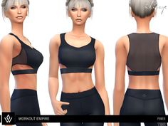 Workout Empire - Power collection item  Found in TSR Category 'Sims 4 Female Everyday'