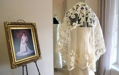 Couture Mantilla Veil Fingertip Length Wedding by CouturesbyLaura