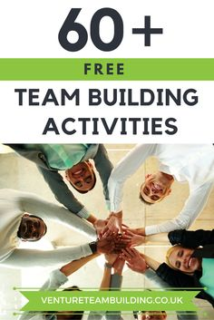 Need more team building resources? Get 60 free team building activities! Free Team Building Activities, Team Bonding Activities, Team Building Exercises, Leadership Activities, Activities For Teens, Building Ideas, Physical Activities, Office Team Building Games, Quick Team Building Games