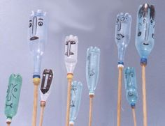 plastic bottle wind organs