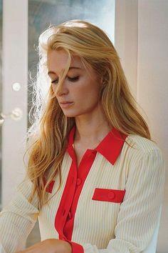 We almost didn't recognize her, but Paris Hilton is killing it here. #refinery29 http://www.refinery29.com/2014/09/74706/paris-hilton-purple-magazine-fashion-editorial#slide-1
