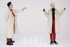 WINNER Song Min Ho and Nam Tae Hyun - Elle Magazine April Issue '16