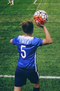 "soccerthebeautifulgame: ""on this episode of throw-in thursday: Kelley O'Hara 
