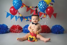 1st birthday smash cake pictures - Google Search