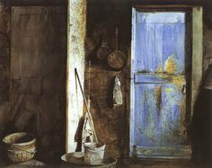 Andrew Wyeth - 'Alvaro and Christina' 1968, watercolor on paper