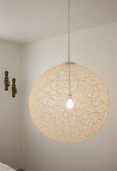 Pink Peony Style: Pendant Lights - DIY style...