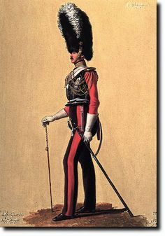 1st Life Guards: Corporal-Major, 1832