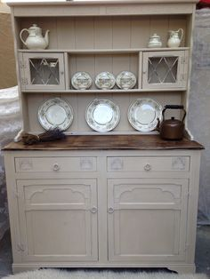 Annie sloan cream & coco painted dresser
