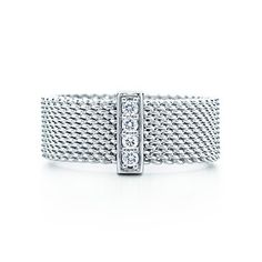 My goal is to promote to RVP by the end of 2013 and earn this - Tiffany Somerset™ ring. Diamonds, sterling silver.