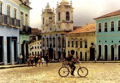 Pelourinho. Salvador de Bahía.1997. by Gonzalo Pereira Puchy, via Flickr