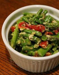 Asparagus & Roasted Bell Pepper Salad