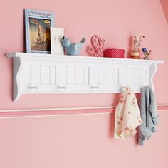 Love this for extra shelving as well as hanging up those few jackets that seem to get used the most!