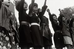 Black Panthers from Sacramento, Free Huey Rally, Bobby Hutton Memorial Park, Oakland, CA, No. 62 August 25, 1968.
