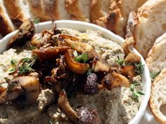 Awesome Mushroom Pate from Serious Eats. http://punchfork.com/recipe/Awesome-Mushroom-Pate-Serious-Eats