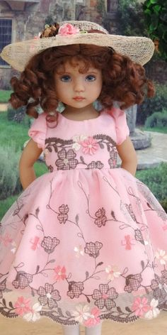 Sewing Doll Clothes, American Doll Clothes, Sewing Dolls, Girl Doll Clothes, Doll Clothes Patterns, Doll Patterns, Girl Dolls, Baby Dolls, Porcelain Dolls Value
