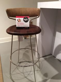 McGuire's Danish Cord Swivel Counter Stool blends in to any kitchen design style. The size and scale of this stool nestles perfectly under any countertop. McGuire Furniture 319 N Hamilton St.