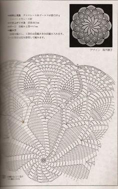 Kira scheme crochet: Scheme crochet no. 567