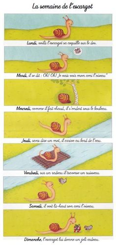 La semaine de l'escargot
